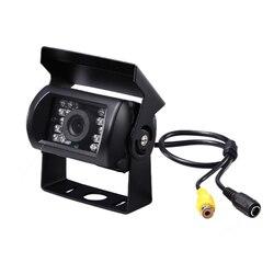 Upgrade 700Tvl Ccd 18 Ir Leds kamera cofania 12/24V dla autobusu kempingowego w Kamery pojazdowe od Samochody i motocykle na