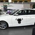 EARLFAMILY 58 см x 46 4 см милые Gorillas обезьянки шимпы лицо крупным планом большой автомобиль наклейки для двери грузовика животных виниловая наклей...