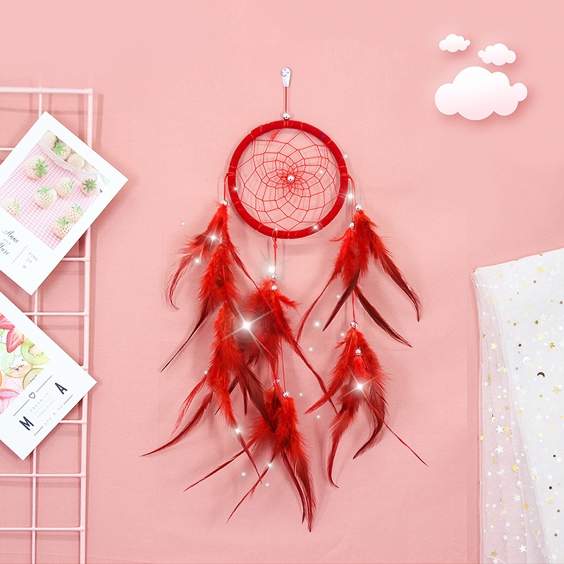 NEW Fairy Dreamcatcher Nordic Home Wind Chimes Car Kids Room Decorative Dream Catcher Balcony Wall Decoration Hanging Ornaments