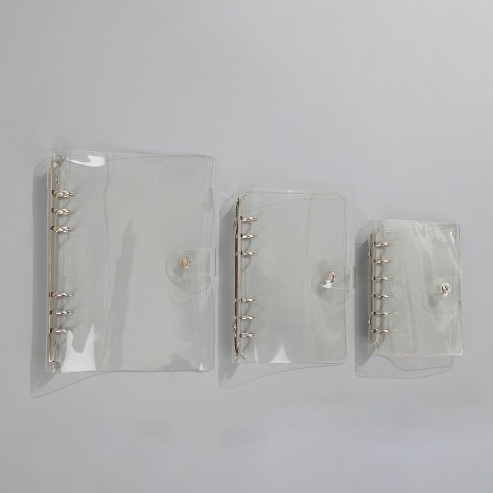 Liant transparent pentru frunze libere curea liberă frunze libere - Blocnotesuri și registre - Fotografie 6