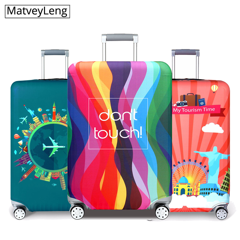 High Quality Travel Luggage Cover Dustproof Protective Travel Suitcase Cover For 18-32 Inch Trolley Bag Case Luggage Accessories