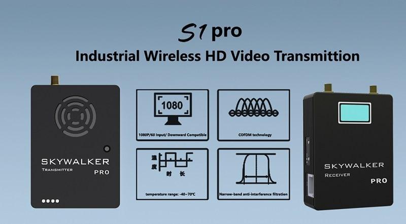 COFDM Digital Video Transmitter Receiver wireless HD video transmitter TX UX for UAV 14