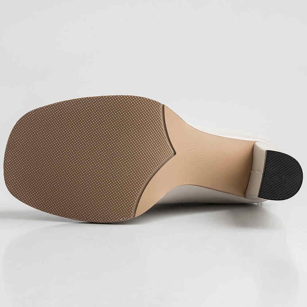 Doratasia 2020 ขนาดใหญ่ 42 ของแท้หนังแฟชั่น elegant high heel ข้อเท้ารองเท้าผู้หญิงรองเท้าผู้หญิง shoelaces รองเท้าหญิง