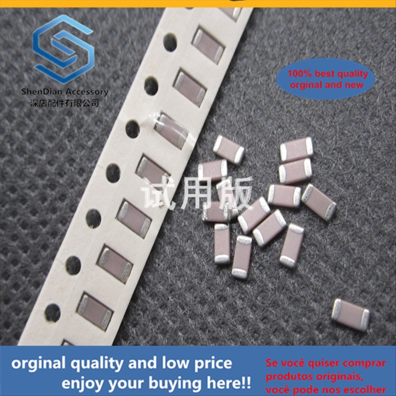 50pcs 100% Orginal New Best Quality 1206 50V56P Chip Capacitor 1206 56PF 5% Accuracy NPO COG Chip Ceramic Capacitor