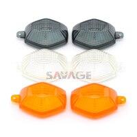 Für SUZUKI DRZ400 S/SM DR Z 400 S/400SM  SV 650/1000 S/N SFV650 Gladius Motorrad Vorne/Hinten Blinker Anzeige Lampe Objektiv auf