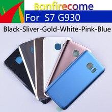 10 шт./партия, задняя крышка аккумулятора S7 для Samsung Galaxy S7 G930 G930F G930A