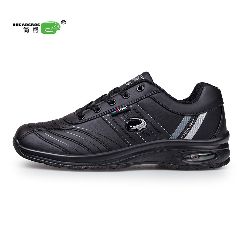 Original Brand Luxury Male Running Shoes Sports Shoes For Men Designer Man Jogging Sneakers Pu Leather Air Cushion Crocodile Big