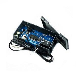 Image 2 - 10a termostato digital controlador de temperatura dc 6 v 30 v regulador térmico termostato termopar display lcd sensor 12 v 24 v