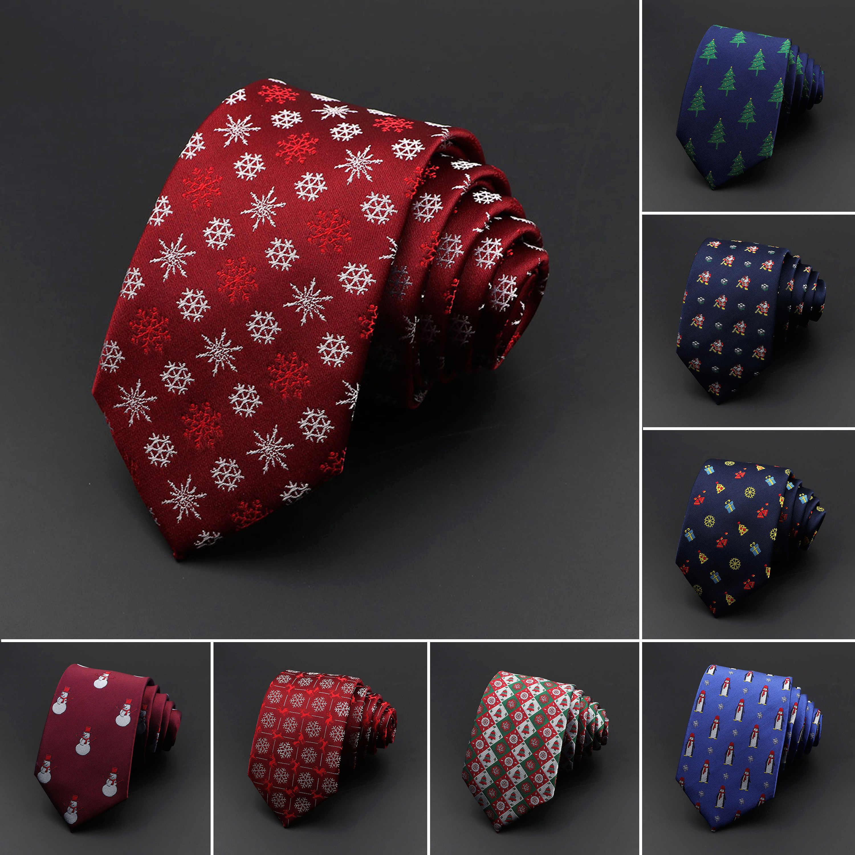 Christmas Ties 2020 2020 New Sell Merry Christmas Necktie Polyester Silk Jacquard