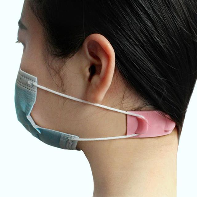1/5pcs Face Mask Ear Hooks Adjustable Anti-slip Mask Ear Grips High Quality Extension Hook Face Masks Buckle Holder Accessories 1