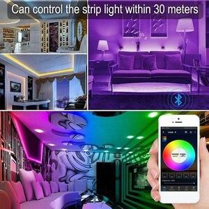Image 3 - LED 컨트롤러, LED 스트립 조명에 대 한 블루투스 메쉬 스마트 RGBW 컨트롤러, 더 많은 64 LED 스트립 협업, Dimmable 색상, Su