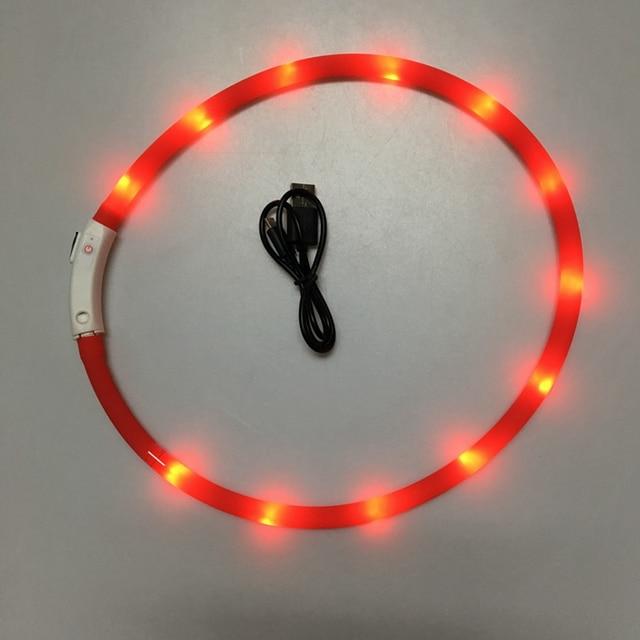 USB LED Dog Collar  5