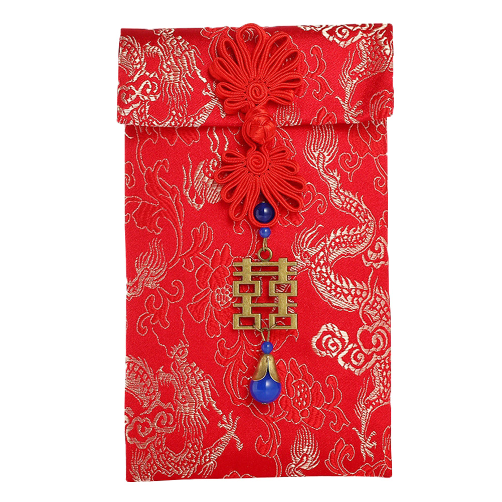 2020 Gift Bag Traditional Red Envelopes Money Pocket Spring Festival Tassel Housewarming Wedding Birthday Lucky Chinese New Year