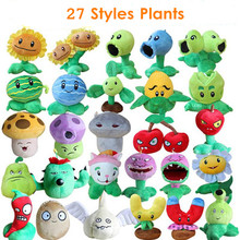 купить 27 Styles Plants vs Zombies Plush Toys 13-20cm Plants vs Zombies Plush Stuffed Toys Soft Game Toy for Children Kids Gifts по цене 246.85 рублей
