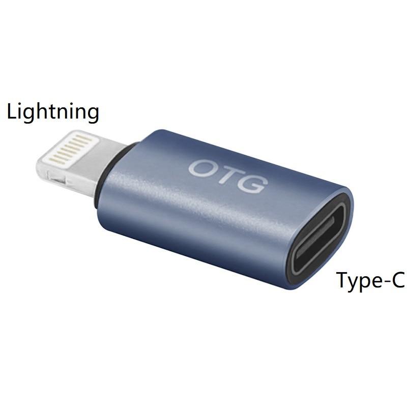 USB-C Female to Lightning Male OTG Adapter,Type-C Digital Headphone DAC Converter for iPhone 11 Pro Max,Xs,Xr,iPad Air 3 2,iPod