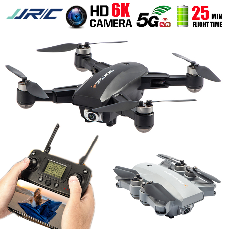 JJRC X16 Drone GPS 6K HD Camera 5G WIFI FPV Optical Flow Poaitioning Brushless Foldable Quadcopter FPV Racing RC Drones Dron