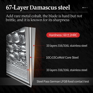 Image 3 - XINZUO 6 inch Utility Knife Damascus Steel Kitchen Knife Fruit Rosewood Handle Newarrive Stainless Steel Paring Knives Gift Box