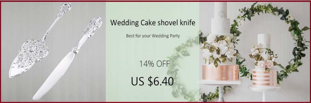 silver cake shovel knife set