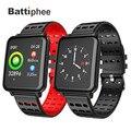 Battiphee reloj inteligente T2 IP67 pulsera Bluetooth a prueba de agua podómetro Frecuencia Cardíaca Monitor de presión arterial hombres mujeres banda deportiva