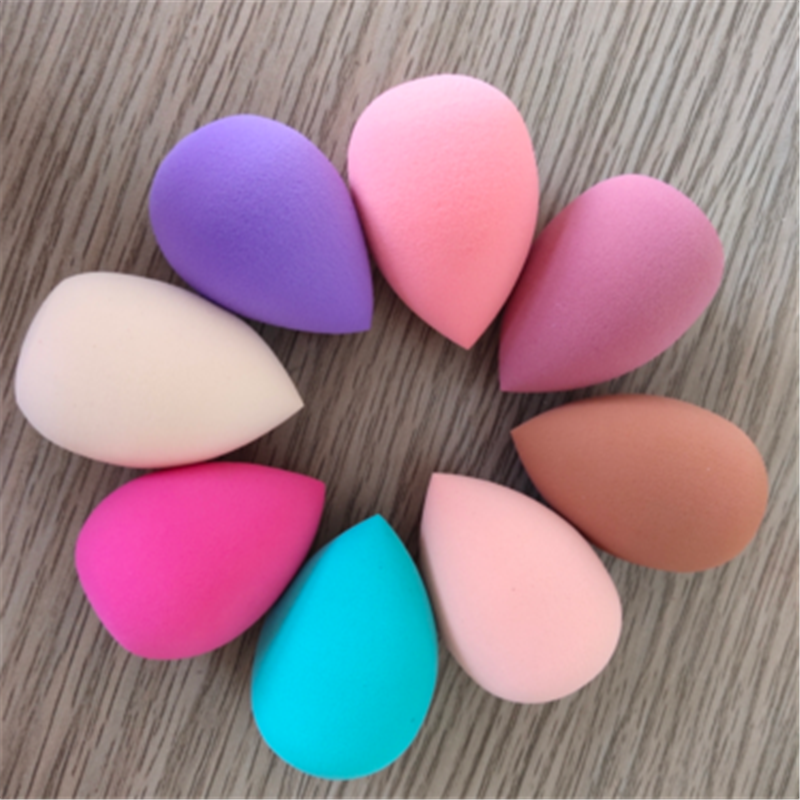 1Pcs Soft Water Drop Shape Makeup Cosmetic Puff Powder Smooth Beauty Foundation Sponge Clean Makeup Tool Accessory