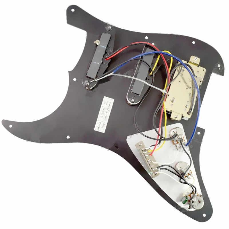 Предварительно загруженная Проводная щетка для гитары черного жемчуга SSH, 1 шт., скребок для электрогитары, аксессуары для гитары