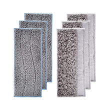 6pcs/lot Washable Wet Mopping Pads for IRobot Braava Jet M6, dry Mopping Pads for IRobot Braava Jet M6