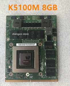 Graphic-Card M6800 K5100M 8770W Video G2-Test VGA for DELL HP 8770w/Zbook15/G1/.. N15E-53-A2