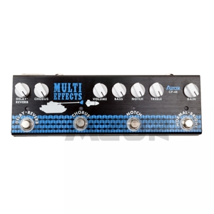 Image 5 - Azor CP 48 Multi Effect Pedal For Acoustic Guitar Chorus Delay and Reverb Digital Effects Guitar Accessories MP3 and XLR Output