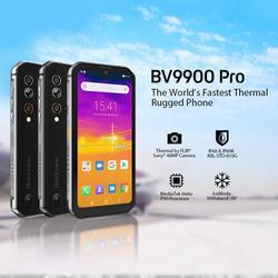 Смартфон Blackview BV9900 Pro, мобильный телефон, Helio P90 восемь ядер, 8 ГБ + 128 ГБ