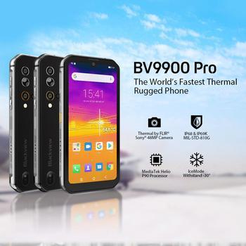 Перейти на Алиэкспресс и купить Смартфон Blackview BV9900 Pro, мобильный телефон, Helio P90 восемь ядер, 8 ГБ + 128 ГБ