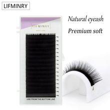 16 lines of imitation ermine eyelashes, professional eyelashes, soft ermine eyelashes extension