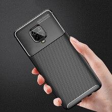Carbon Fiber Case For Xiaomi Redmi Note 9 Pro Cases TPU For Xiomi Redmi Note 9s 8T 8A K30 K20 GO 7A 6A 5 Plus Poco F2 X2 Covers