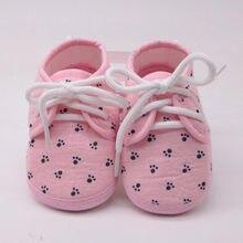 Scarpe per neonate lettera impronta Plaid calzature antiscivolo scarpe per presepe scarpe per bambina scarpe per bambini appena