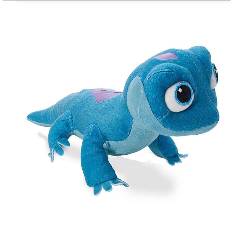 2020 NEW Fire Lizard Fever Fire Elves Sa Anna Elsa 2 Salamander Plush Toy Stuffed Doll Snowman Olaf  Doll For Kid Child Kids