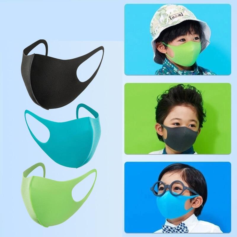 1Pc Kids Reusable Mouth Mask Protect Children Cotton Blend Dustproof Anti Dust Nose Protection Face Mouth Masks Kids