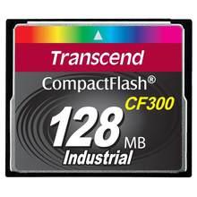 Transcend – carte mémoire flash 128 mo, SLC CF300, 0,125 go, compacte