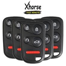 KEYECU 5x (angielska wersja) Xhorse dla Honda Style 5 przycisk uniwersalny klucz zdalny dla narzędzie VVDI VVDI2