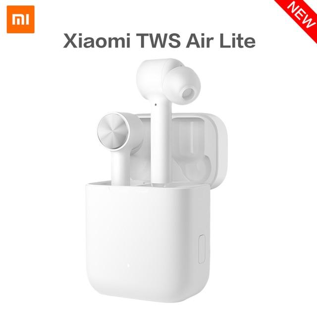 New Xiaomi Mi True Wireless Earphone Air Lite TWS Headphone True Wireless Stereo Sport Earphones Tap Control Dual MIC ENC BT 5.0