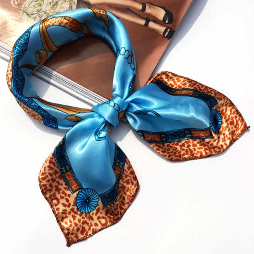 Pañuelo pequeño elegante para fiesta para mujer, banda para el cabello, pañuelo cuadrado para mujer 102
