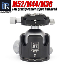 INNOREL M52/M44/M36 ball head panoramic video stand head new low center of gravity aluminum tripod ballhead maximum load 30KG