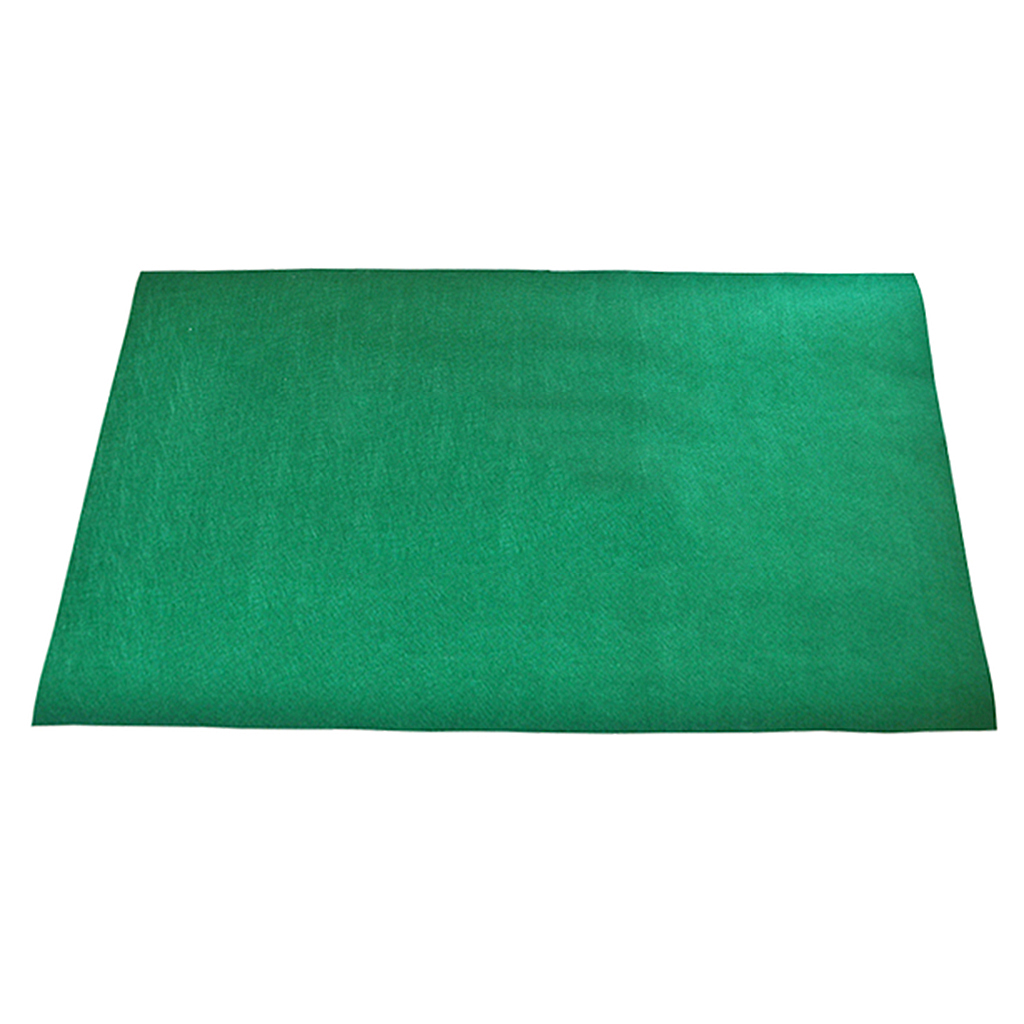 Green Non-woven Mat Game Table Cover Casino Layout Poker Cloth for Texas 'em High Quality