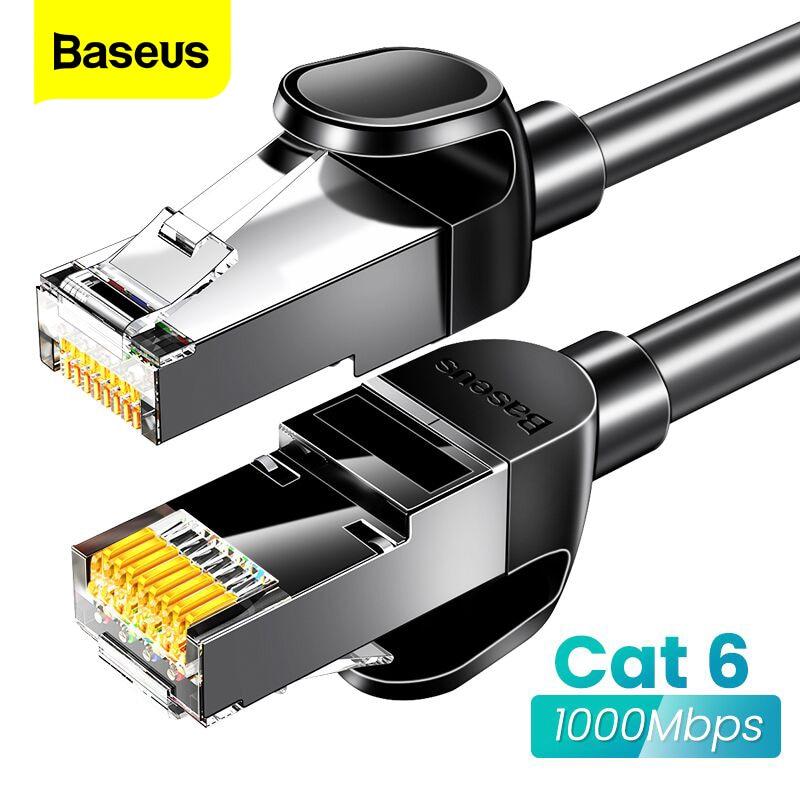 Baseus Ethernet Cable RJ45 Cat6 Lan Cable 15m/10m/5m UTP RJ 45 Network Cat 6 Compatible Cord For Modem Router Internet Cable
