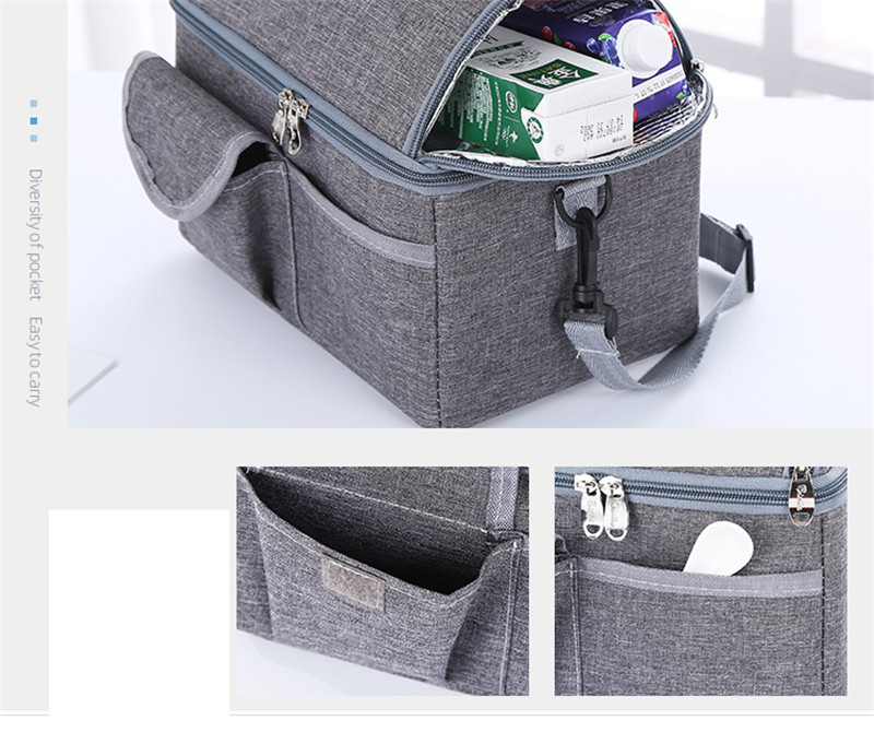 MOTOHOOD Baby Diaper Bag For Mom Mummy Mother Maternity Nappy Bags Thermal Insulation Stroller Bag Milk warm Insulation Bag  (12)