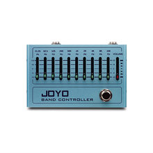 JOYO Band Controller Equalizer 10 Band EQ Pedal for Guitar & Bass True Bypass 31.25Hz to16kHz Equalizer Effect Pedal R