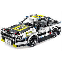 Kazi ky1027 AE-86 engenharia mecânica puxar para trás esportes série carro blocos de construção modelo tijolos brinquedos para crianças meninos presente