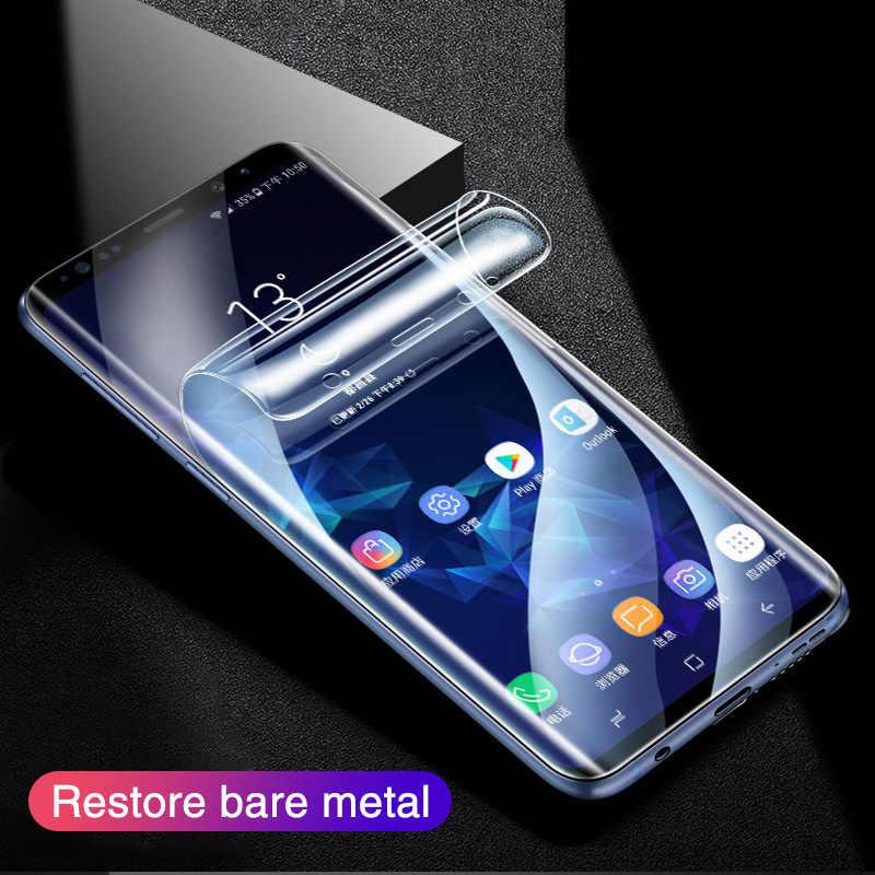 Protector de pantalla 500D película de hidrogel para Samsung S10 S9 S8 Plus Note 8 9 S10e película protectora para A50 A10 A30 A70 película no de vidrio