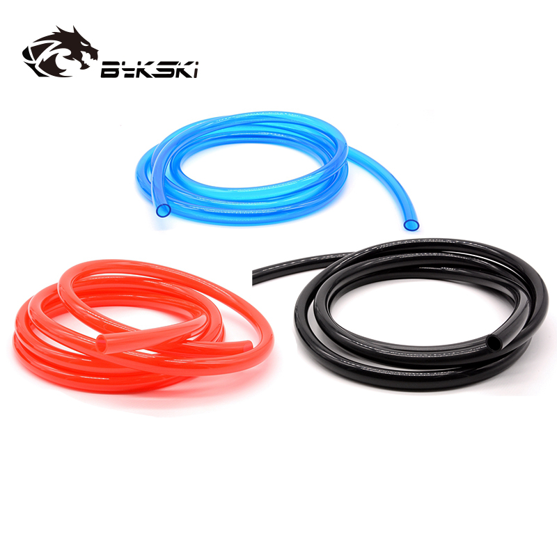 OD 19mm Hose +ID 13mm Soft Tubes Inside For PC Water Cooling Drain Away Water 1Meter/pcs 13/19mm Hose White,Red,Green,Blue,BlacK
