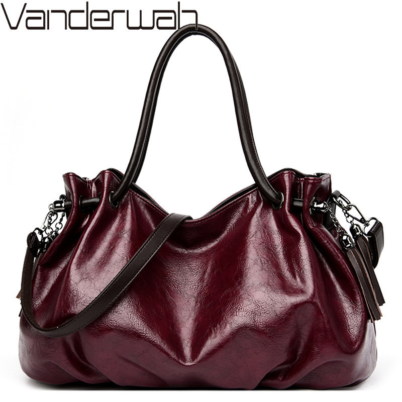 Luxury Handbags Women Tote Bags Designer Famous Brand Tassel Shoulder Crossbody Bag Ladies Casual Big Hobos Hand Bags Sac a Main