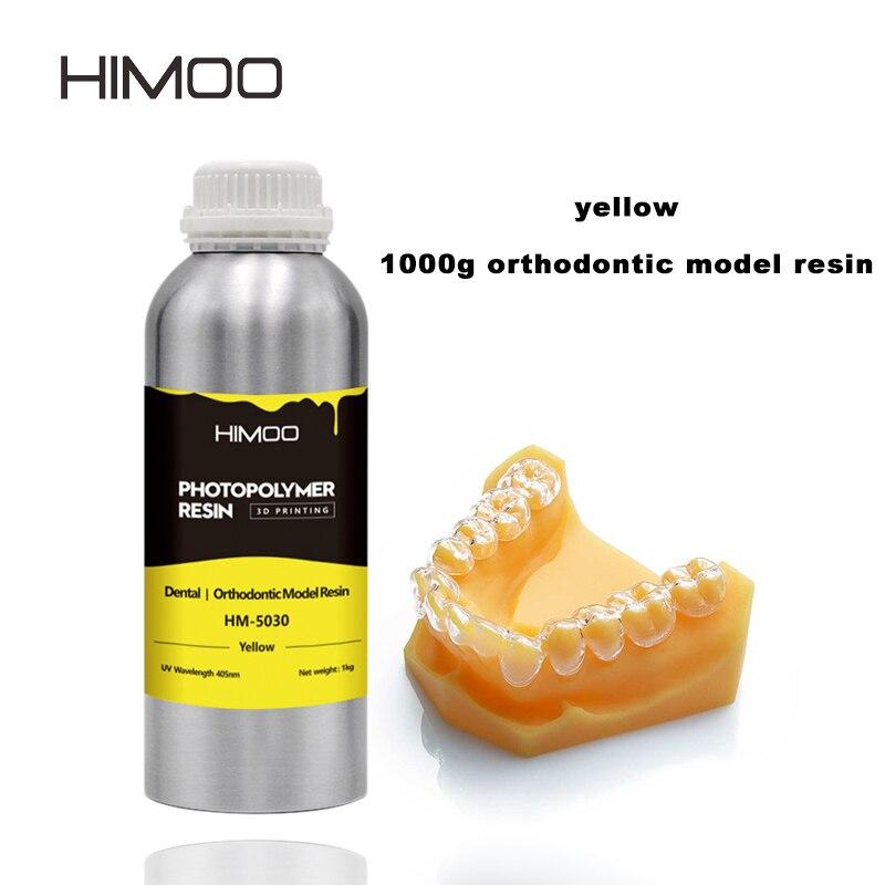 Ортодонтическая модель Himoo с низким запахом и нетоксичной для смолы, 3D принтер, телесного цвета, более длинный имплантат Kelant, Ортодонтическа...