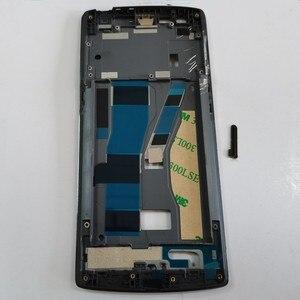Image 5 - Azqqlbw Voor Oneplus Een 1 + A0001 Met 3M Lijm Front Behuizing Midden Frame Plaat Voor Een Plus Een 1 + A0001 Midden Frame